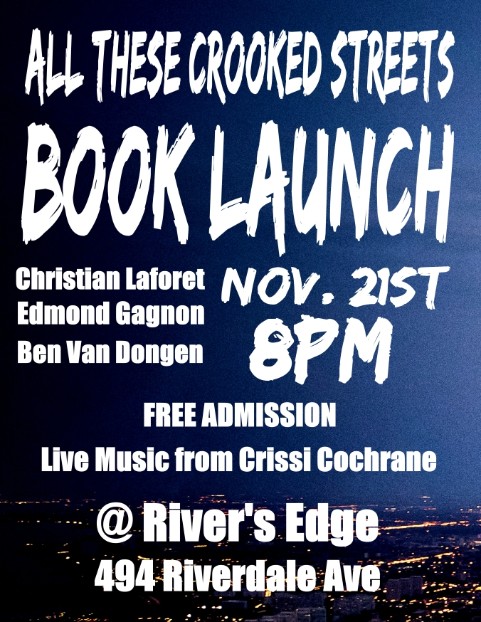 Book Launch new date